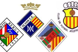 Victòria del Berga i derrotes d'Olvan i Gironella B a Tercera Catalana