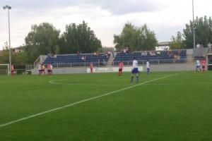 El partit entre l'Avià i el Manresa se suspèn quan l'Avià guanyava 1 a 0