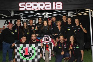 Franc Serra Sala es proclama campió de la Copa Rodi Dirt Track