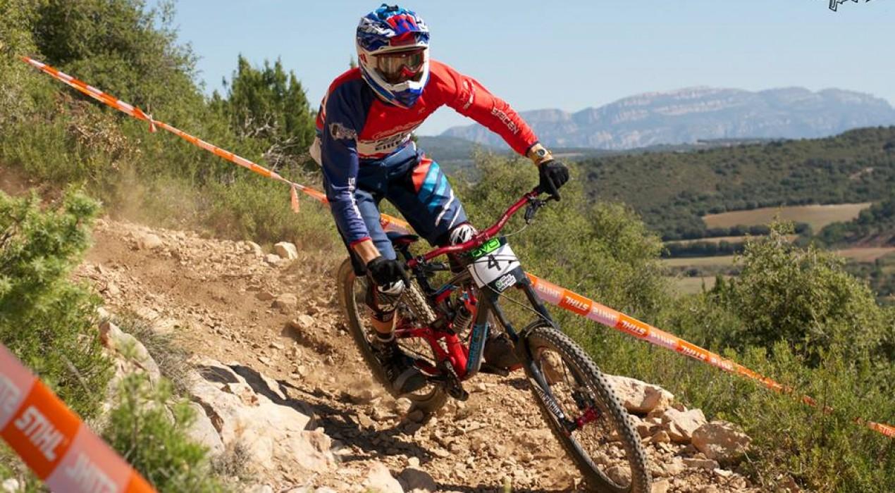 Jordi Junyent guanya el DVO Downhill Cup a Tartareu (Lleida)