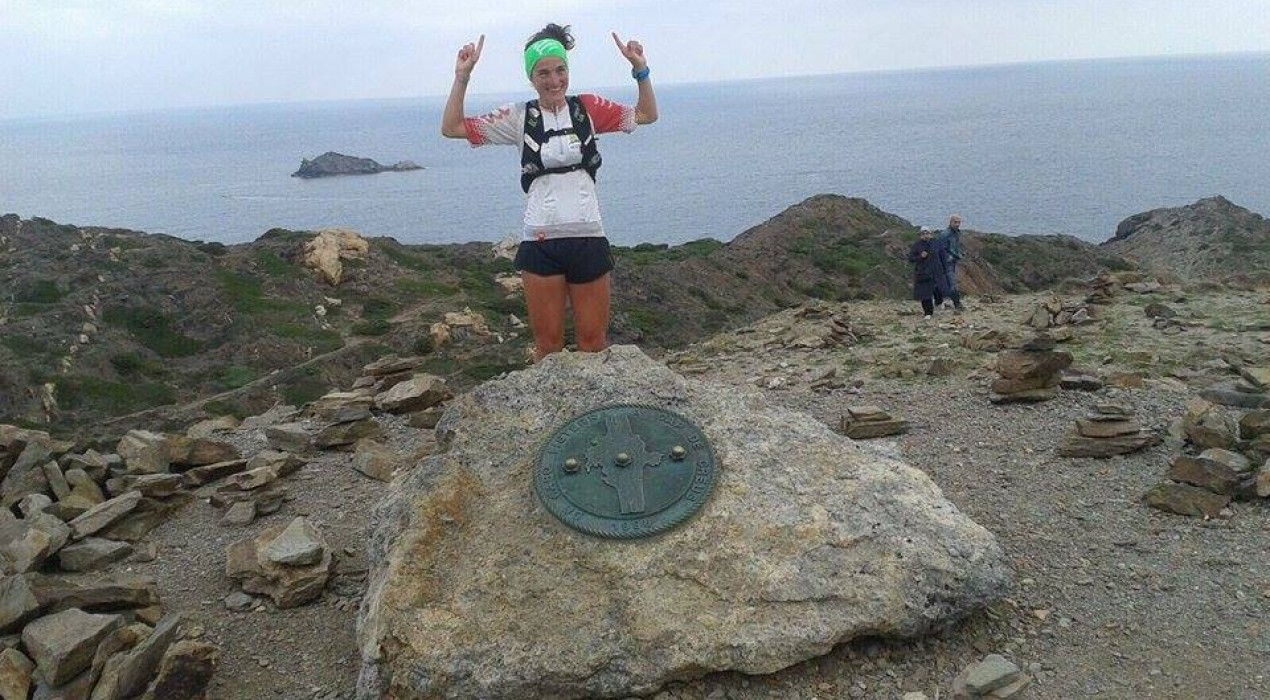 L'atleta de Gironella Judit Franch aconsegueix el repte de fer la 'Transpirinenca per la diabetis'