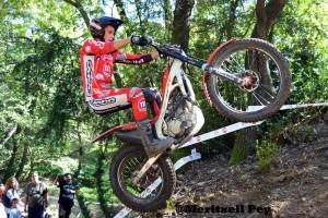 Oriol Noguera guanya el Trial de Cal Rosal