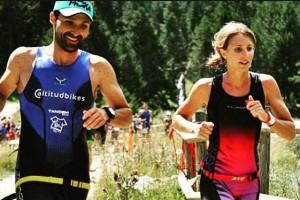 Aina Picas i Marc Cirera marxen al campionat del món de triatló de muntanya de Hawaii