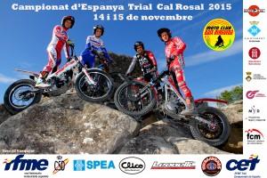 Cal Rosal acull l'última prova del Campionat d'Espanya de Trial