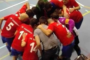 Victòria del PC Imagine Casserres al camp del Santpedor (1-5)