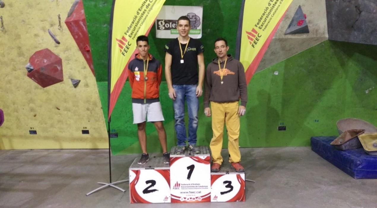 Àlex Hernández és segon en la darrera prova de la Copa Catalana d'Escalada de Dificultat