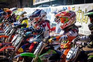 El circuit d'Olvan acull la primera carrera de la Lliga Catalana de Motocròs de Nens