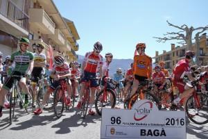La quarta etapa de la Volta reuneix els millors ciclistes del món a Bagà