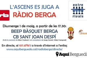 El Beep Berga es juga l'ascens a Ràdio Berga