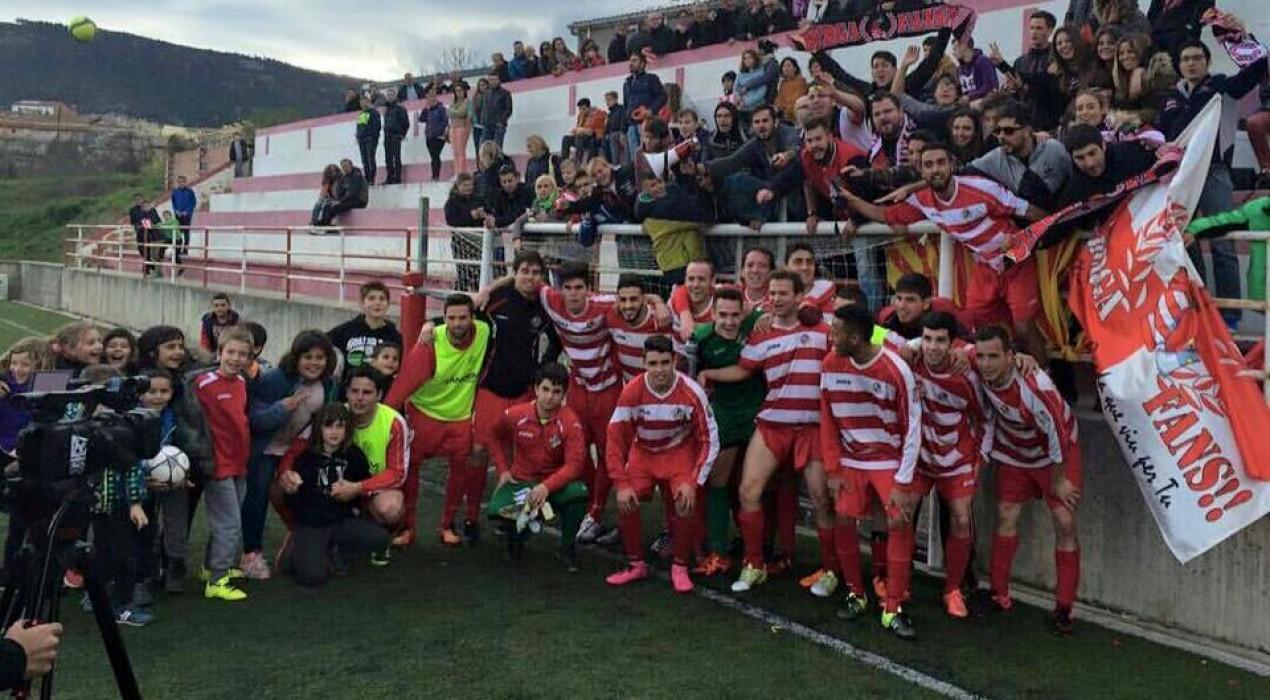 El Berga es pot proclamar campió de Tercera Catalana aquest cap de setmana