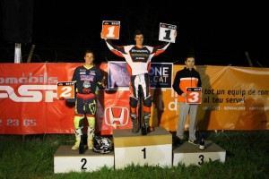 Franc Serra guanya la Copa de Dirt Track del Berguedà