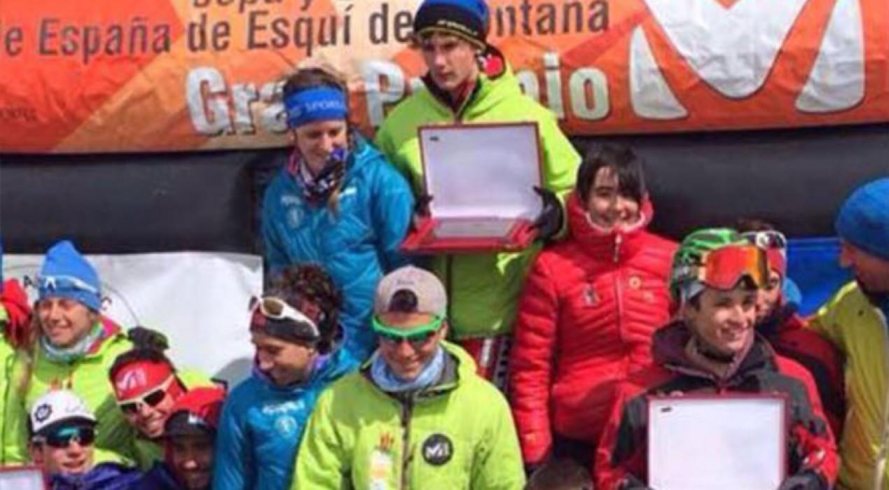 Els Mountain Runners, campions d'Espanya d'Esquí de Muntanya per clubs