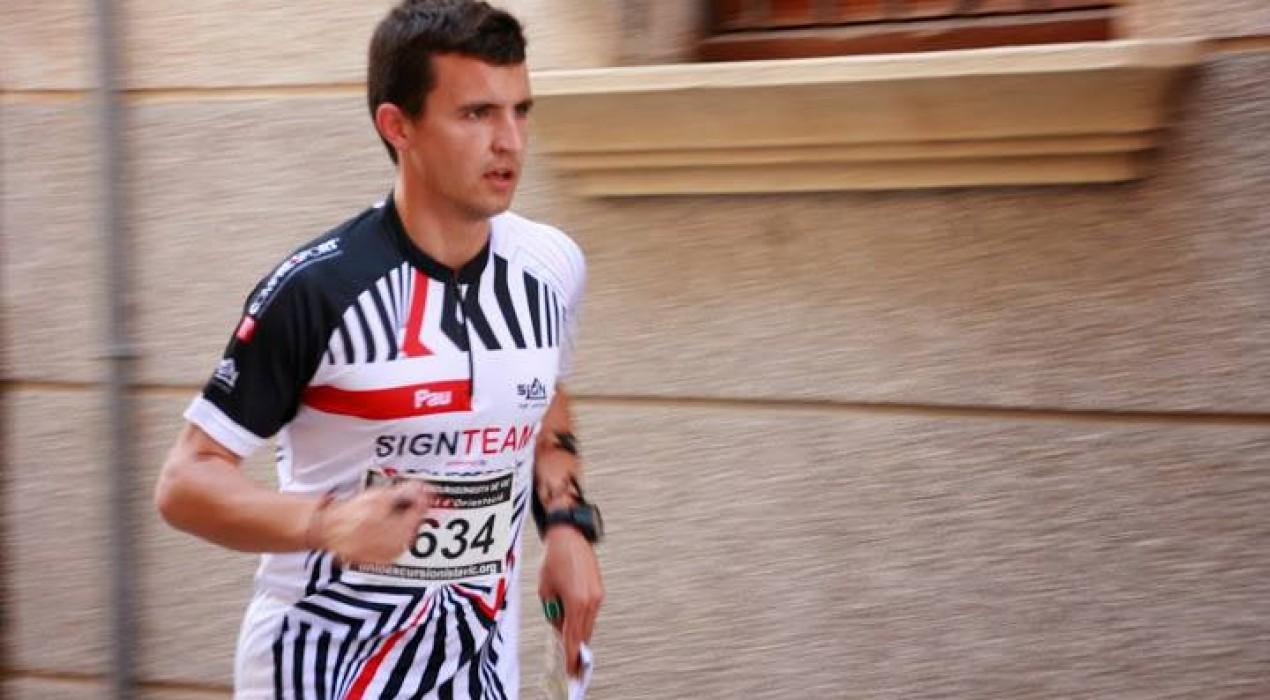 Pau Llorens, participarà al Campionat Mediterrani i del Món d'Orientació