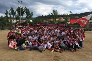El Berga es proclama campió de Tercera Catalana i puja de categoria