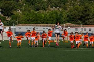 Una vuitantena de nens participen al Campus Uri Rosell