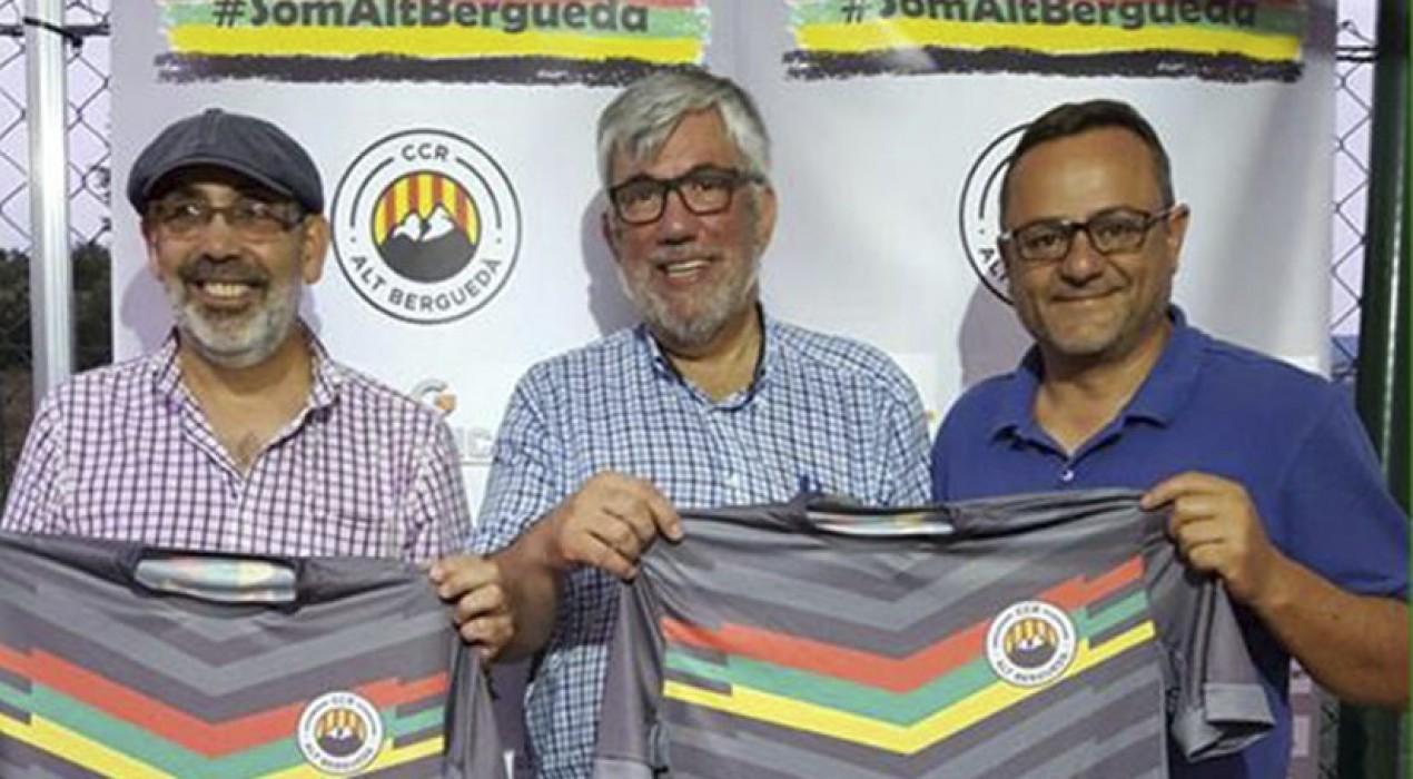 El CCR Alt Berguedà, un club de futbol que travessa fronteres