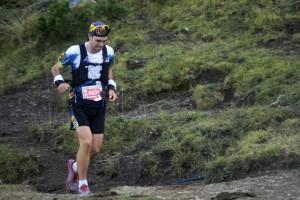 Els últims metres d'Ivan Camps a l'Ultra Pirineu 2016