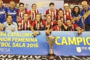 El Penya Esplugues Gironella s'emporta el títol de la Copa Catalunya