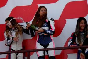 Sara Sánchez i Gerard Riu, protagonistes berguedans del cap de setmana en motos