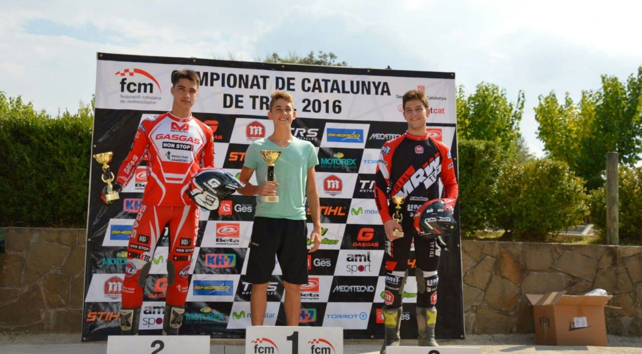 Aniol Gelabert guanya el Trial Open de Gironella