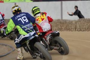 Josep Piedra es fractura la mandíbula al Dirt Track d'Alcarràs