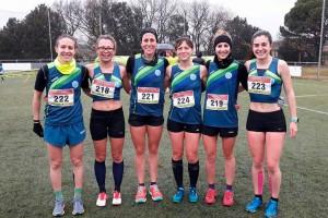 L'equip femení del JAB Berga es classifica pel Campionat d'Espanya de cros curt per clubs