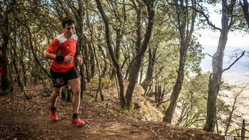 Marc Pérez aconsegueix el segon lloc a la marató d'equips del Trail Rocacorba