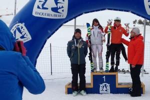 La berguedana Aura Coronado guanya el Trofeu Amics de Montgarri a Baqueira