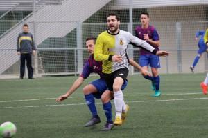 Empat valuós del Gironella al camp del Caldes en un nou partit sota mínims (1-1)