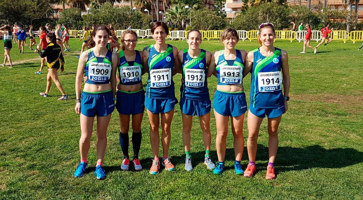 L'equip femení del JAB se supera i aconsegueix la 25a posició al Campionat d'Espanya de Cros per clubs