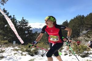 Clàudia Sabata i Maria Beringues s'imposen a la KmV de l'Esquella 2017