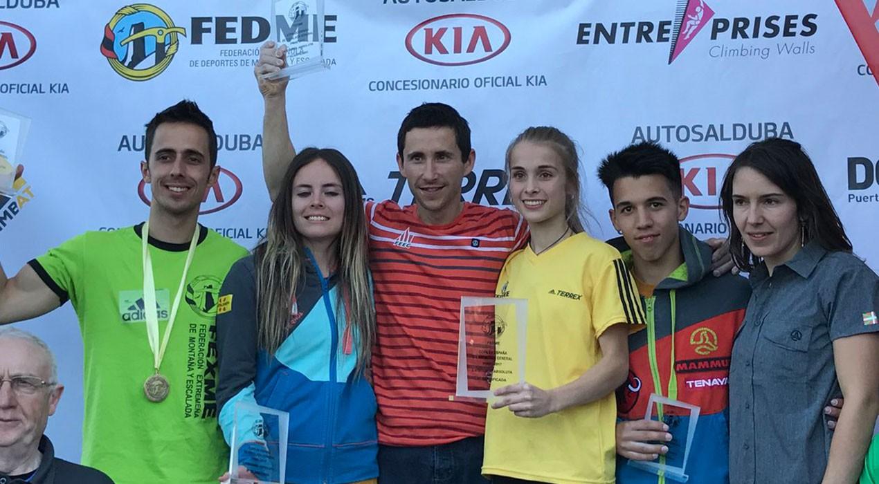 L'escalador de Berga Àlex Hernández, entre els tres millors d'Espanya per primer cop en la seva carrera