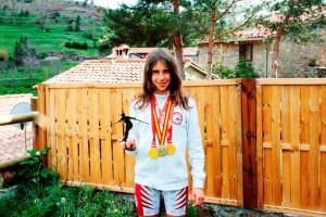 La berguedana Aura Coronado es proclama Campiona d'Espanya i de Catalunya d'Alpí en Línia en la disciplina de GS