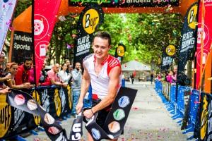 Marc Vilà i Giulia Portaluri, grans vencedors de la dotzena edició de la Berga Trail 2017