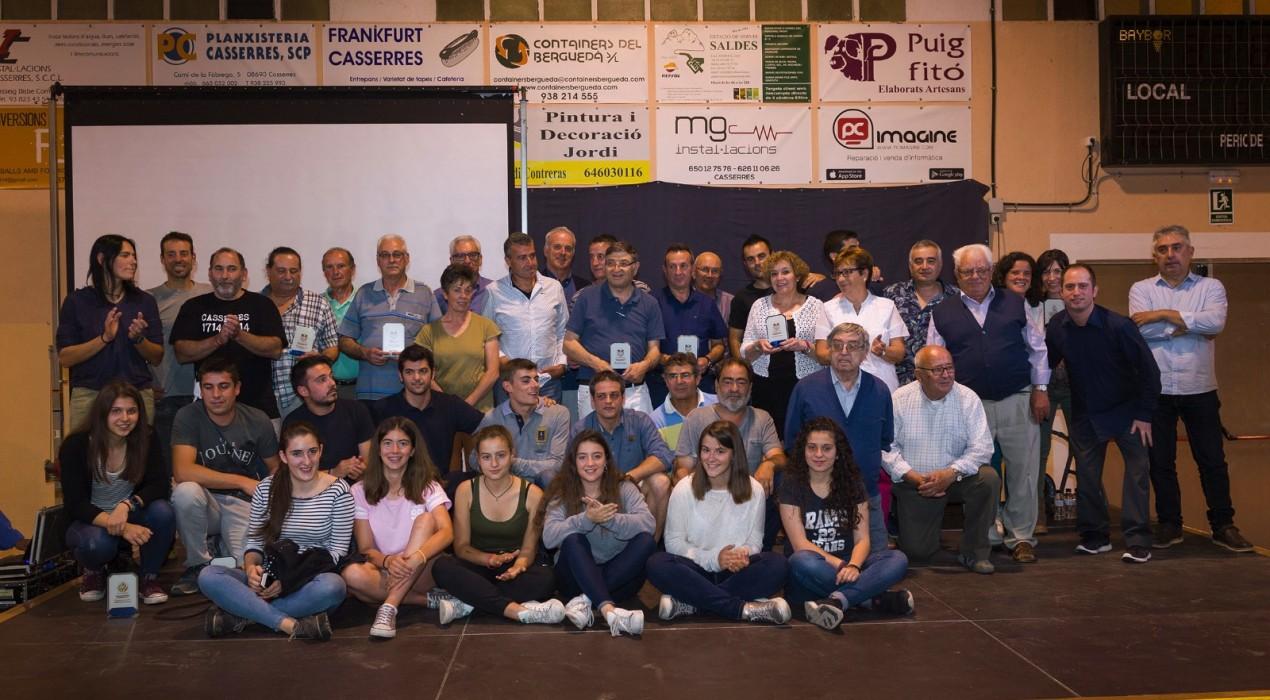 La festa de l'esport de Casserres torna per homenatjar els seus esportistes i entitats