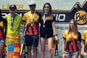 Maria Beringues, subcampiona d'Espanya en línia a la mitja marató de la Zumaia Flysch Trail