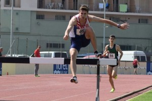 Toni Baños es proclama campió d'Espanya juvenil de 2.000 metres obstacles a Getafe