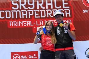 Clàudia Sabata es proclama campiona del món de curses de muntanya