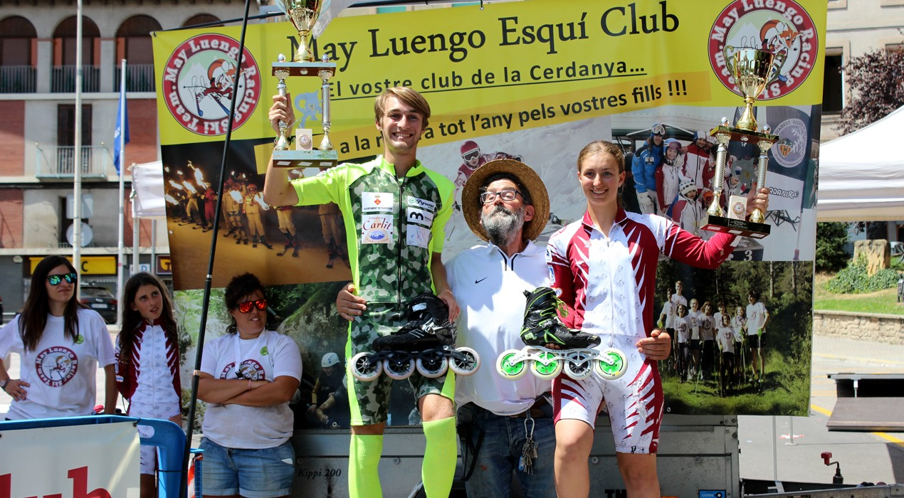 Marc Morera i Ainhoa Mellado guanyen el Segon Trofeu May Luengo d'alpí en línia