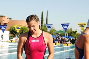 Àneu Ferrer aconsegueix dues plates i un bronze als campionats de Catalunya de natació infantil