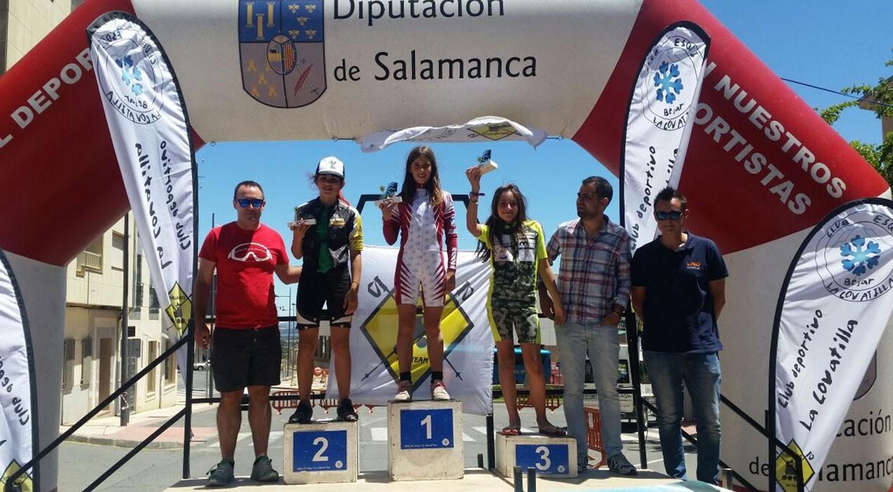 La berguedana Aura Coronado guanya la segona fase de la Copa d'Espanya d'alpí en línia