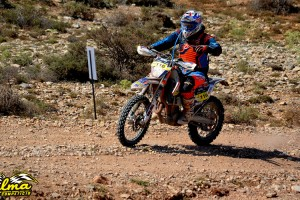 El berguedà Marc Calmet demostra tenir el ritme dels millors en la seva primera Baja Aragón