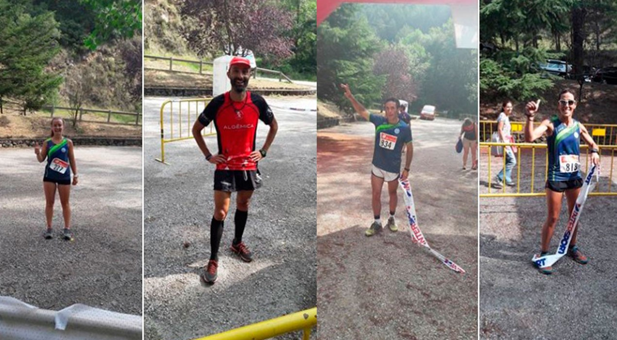 Riki Hierro i Vanesa Chirveches s'imposen al III Trail al Bosc