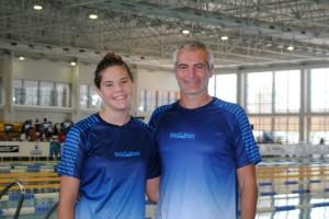 Àneu Ferrer firma una bona participació als Campionats d'Espanya de natació infantil