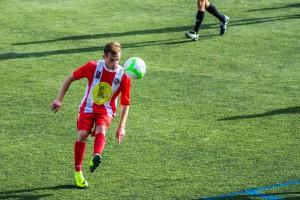 Derrota per la mínima en un partit de molta efectivitat (3-2)