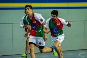 El nou Handbol Berga ja domina a domicili (18-41)