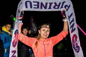 Clàudia Sabata i Jan Margarit s'emporten una més que renyida Nit Pirineu 2017