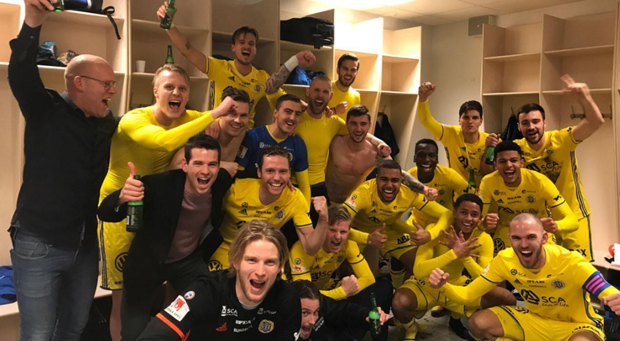 El GIF Sundsvall del gironellenc Ferran Sibila salva la categoria en la darrera jornada de lliga