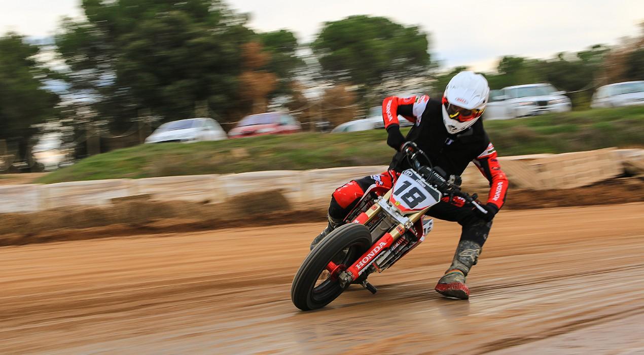 Franc Serra torna al Superprestigio Dirt Track de Barcelona