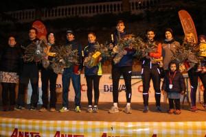 El duo Baños – Tomassa i Txell Calduch s'imposen a la 18a Sant Silvestre de Berga